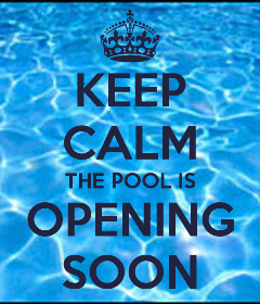 Pool Opening Appointment in progress